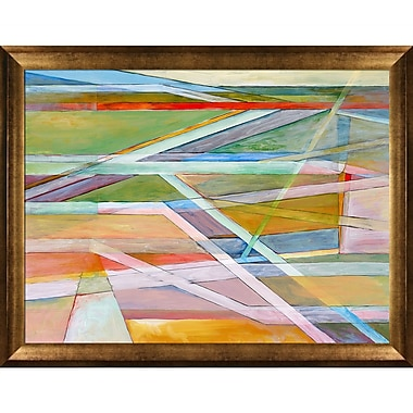 Tori Home Artisbe Edge of Abstraction No. 5 by Clive Watts Framed Painting Print