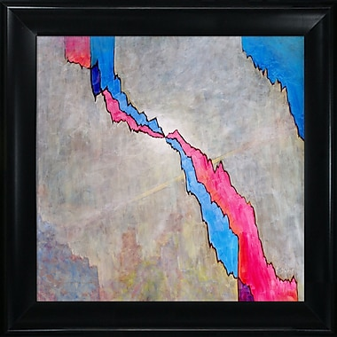 Tori Home Artisbe Crack by Clive Watts Framed Painting Print