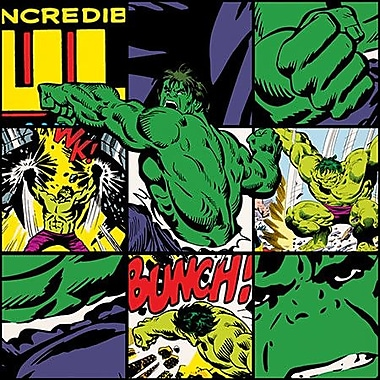 iCanvas Marvel Comics Hulk Collage Graphic Art on Canvas; 37'' H x 37'' W x 0.75'' D