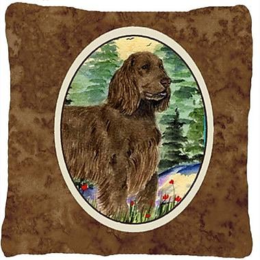 Caroline's Treasures Field Spaniel Indoor/Outdoor Throw Pillow