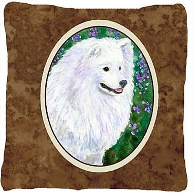 Caroline's Treasures American Eskimo Indoor/Outdoor Throw Pillow