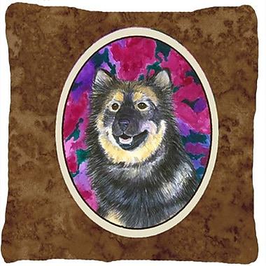 Caroline's Treasures Finnish Lapphund Indoor/Outdoor Throw Pillow