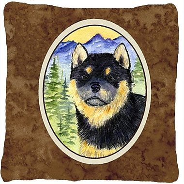 Caroline's Treasures Shiba Inu Indoor/Outdoor Throw Pillow