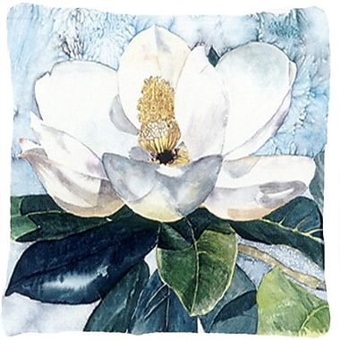 Caroline's Treasures Magnolia Indoor/Outdoor Throw Pillow