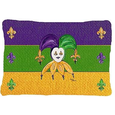 Caroline's Treasures Mardi Gras Indoor/Outdoor Throw Pillow