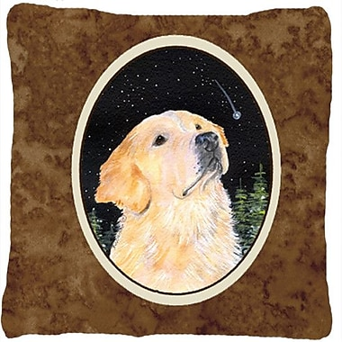 Caroline's Treasures Starry Night Golden Retriever Indoor/Outdoor Throw Pillow