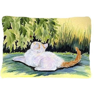 Caroline's Treasures Cat Indoor/Outdoor Throw Pillow