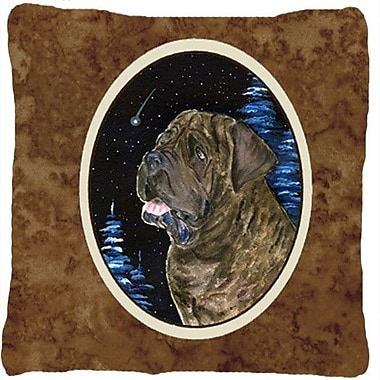 Caroline's Treasures Starry Night Mastiff Indoor/Outdoor Throw Pillow