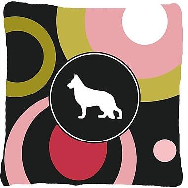 Caroline's Treasures German Shepherd Indoor/Outdoor Throw Pillow