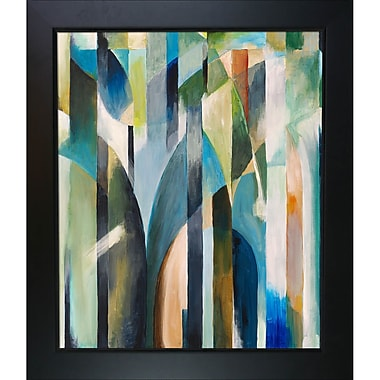 Tori Home Artisbe Curve by Clive Watts Framed Painting Print