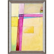 Tori Home Artisbe Edge of Abstraction No. 7 by Clive Watts Framed Painting Print