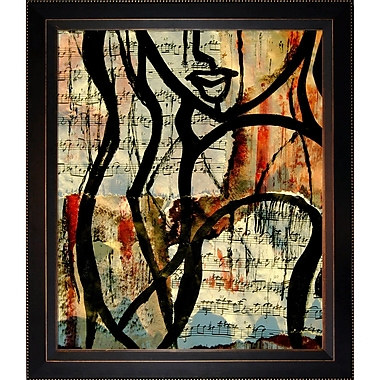 Tori Home Artisbe Notes by Elwira Pioro Framed Painting Print