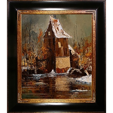 Tori Home Artisbe Old Mill by Justyna Kopania Framed Painting Print