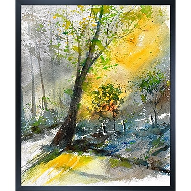 Tori Home Artisbe Watercolor by Pol Ledent Framed Painting Print