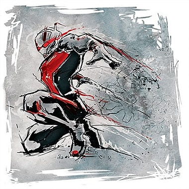 iCanvas Marvel Comics The Ant-Man Drawing Graphic Art on Canvas; 37'' H x 37'' W x 1.5'' D