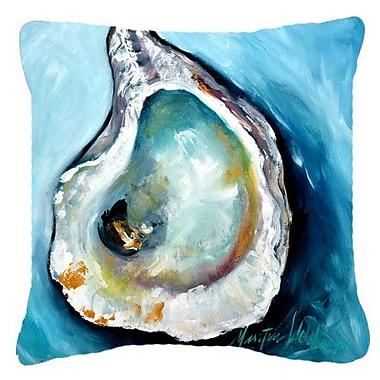 Caroline's Treasures Oyster Indoor/Outdoor Throw Pillow; 14'' H x 14'' W x 4'' D