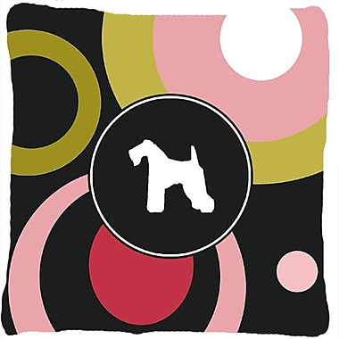 Caroline's Treasures Kerry Blue Terrier Indoor/Outdoor Throw Pillow