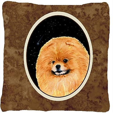Caroline's Treasures Starry Night Pomeranian Indoor/Outdoor Throw Pillow