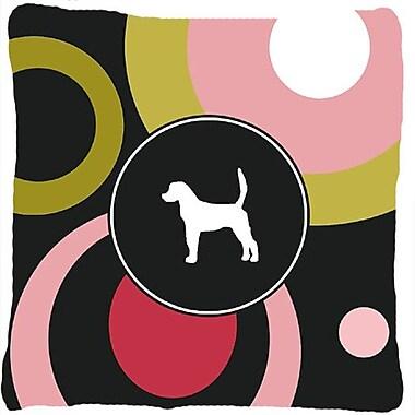 Caroline's Treasures English Foxhound Indoor/Outdoor Throw Pillow