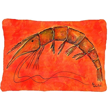 Caroline's Treasures Shrimp Indoor/Outdoor Throw Pillow