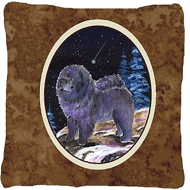 Caroline's Treasures Starry Night Chow Chow Indoor/Outdoor Throw Pillow