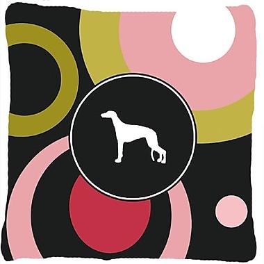 Caroline's Treasures Greyhound Indoor/Outdoor Throw Pillow