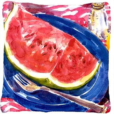 Caroline's Treasures Watermelon Indoor/Outdoor Throw Pillow