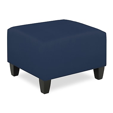 Tory Furniture City Spaces Upholstered Club Ottoman; Navy