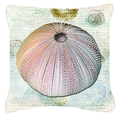 Caroline's Treasures Anemone Indoor/Outdoor Throw Pillow; 18'' H x 18'' W x 5.5'' D