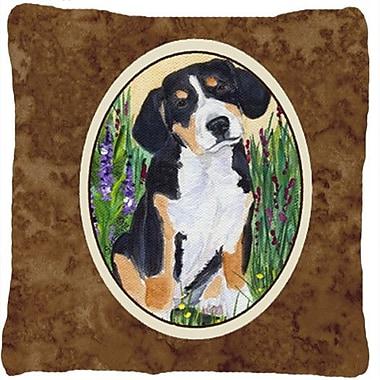 Caroline's Treasures Entlebucher Mountain Dog Indoor/Outdoor Throw Pillow