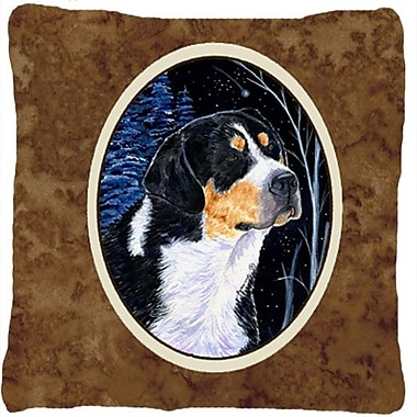 Caroline's Treasures Starry Night Bernese Mountain Dog Indoor/Outdoor Throw Pillow