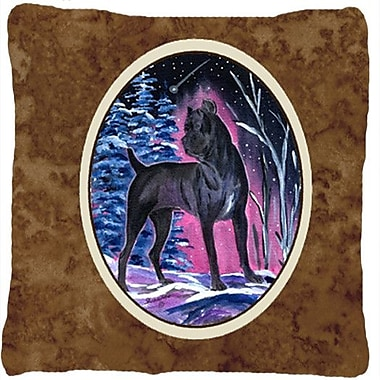 Caroline's Treasures Starry Night Cane Corso Indoor/Outdoor Throw Pillow