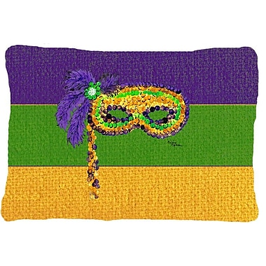 Caroline's Treasures Mardi Gras Indoor/Outdoor Throw Pillow