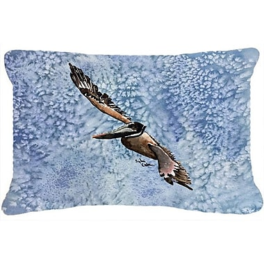 Caroline's Treasures Pelican Indoor/Outdoor Throw Pillow