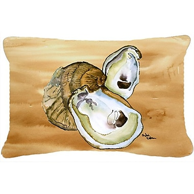 Caroline's Treasures Oyster Indoor/Outdoor Throw Pillow