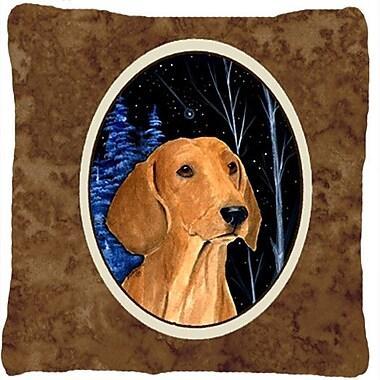 Caroline's Treasures Starry Night Dachshund Indoor/Outdoor Throw Pillow