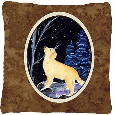 Caroline's Treasures Starry Night Golden Retriever Indoor/Outdoor Throw Pillow