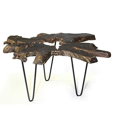 Hokku Designs V End Table; Black