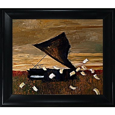 Tori Home Artisbe Piano by Justyna Kopania Framed Painting Print