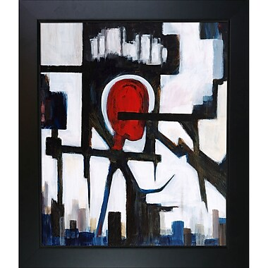 Tori Home Artisbe Pain by Clive Watts Framed Painting Print