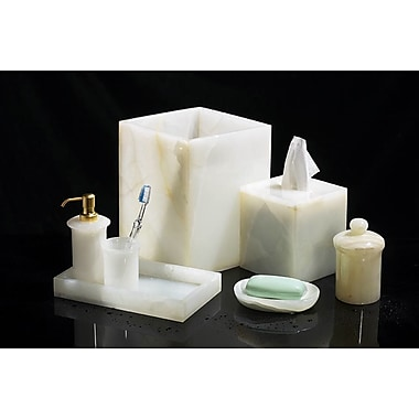 Rembrandt Home Marble 7 Piece Bathroom Accessory Set