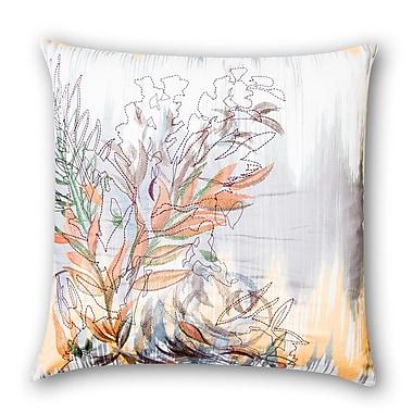 VCNY Chevron Ikat Cotton Throw Pillow