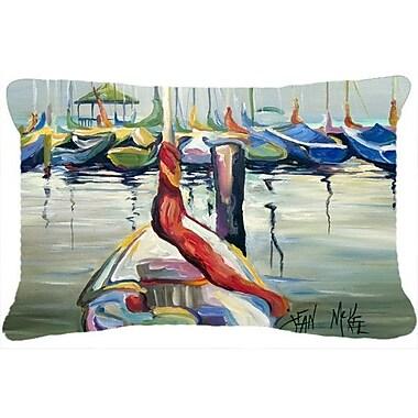 Caroline's Treasures Lasalle Sailboats Indoor/Outdoor Throw Pillow