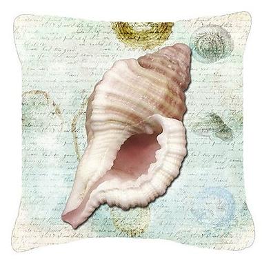 Caroline's Treasures Shells Indoor/Outdoor Throw Pillow; 14'' H x 14'' W x 4'' D