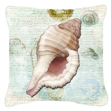 Caroline's Treasures Shells Indoor/Outdoor Throw Pillow; 18'' H x 18'' W x 5.5'' D