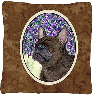 Caroline's Treasures French Bulldog Indoor/Outdoor Throw Pillow
