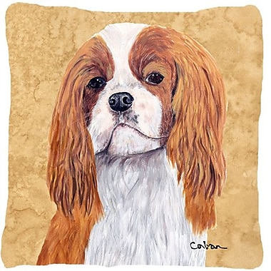 Caroline's Treasures Cavalier Spaniel Indoor/Outdoor Throw Pillow