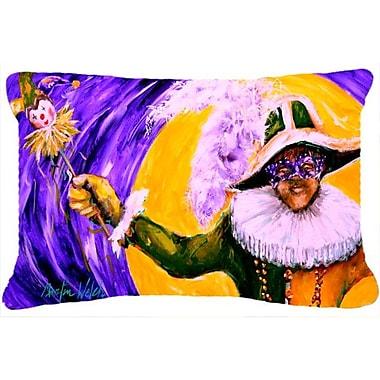 Caroline's Treasures Mardi Gras Hey Mister Indoor/Outdoor Throw Pillow