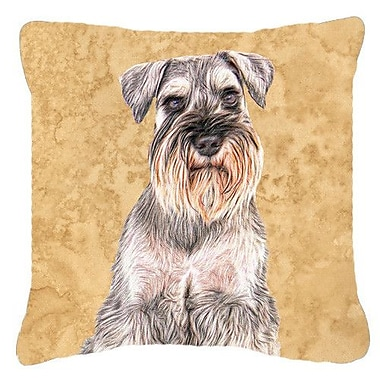 Caroline's Treasures German Shepherd Indoor/Outdoor Throw Pillow; 14'' H x 14'' W x 4'' D