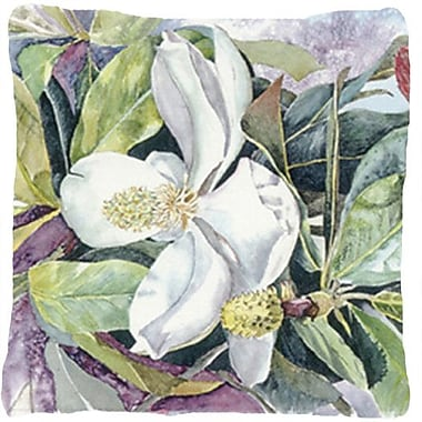 Caroline's Treasures Magnolia Indoor/Outdoor Throw Pillow